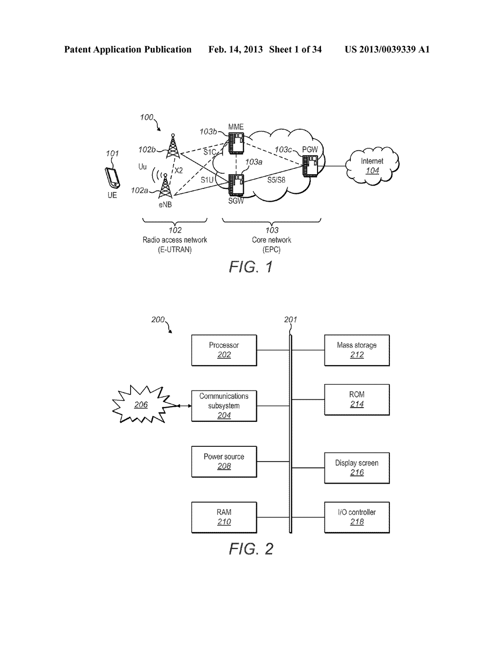 Other Network Component Receiving RRC Configuration Information from eNB - diagram, schematic, and image 02