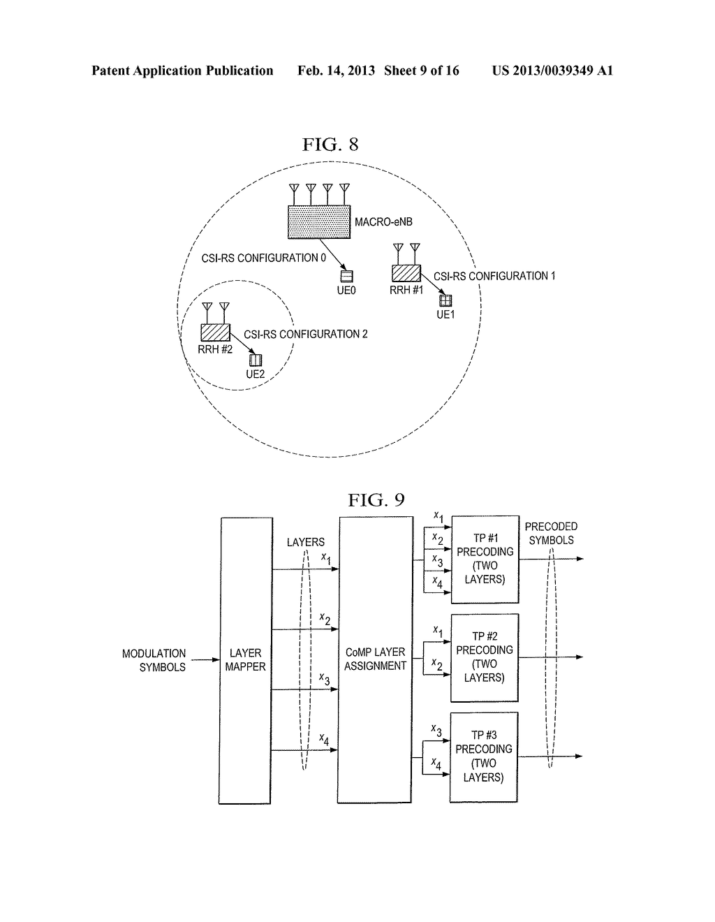 Methods of Channel State Information Feedback and Transmission in     Coordinated Multi-Point Wireless Communications System - diagram, schematic, and image 10