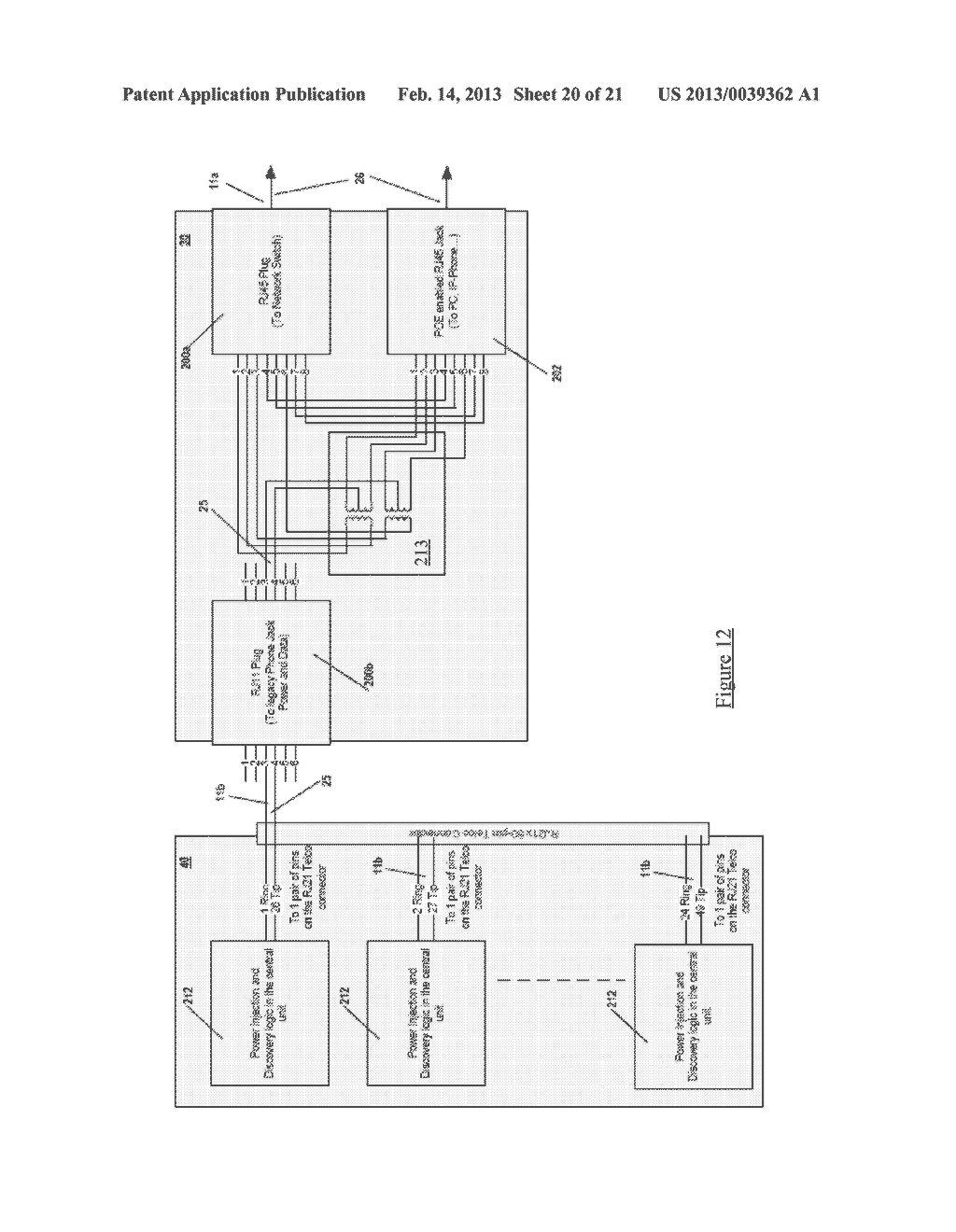 INLINE POWER SYSTEM AND METHOD FOR NETWORK COMMUNICATIONS - diagram, schematic, and image 21