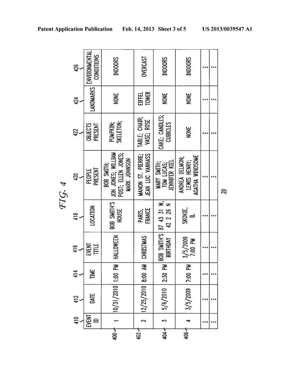 Method and Apparatus for Automated Analysis and Identification of a Person     in Image and Video Content - diagram, schematic, and image 04