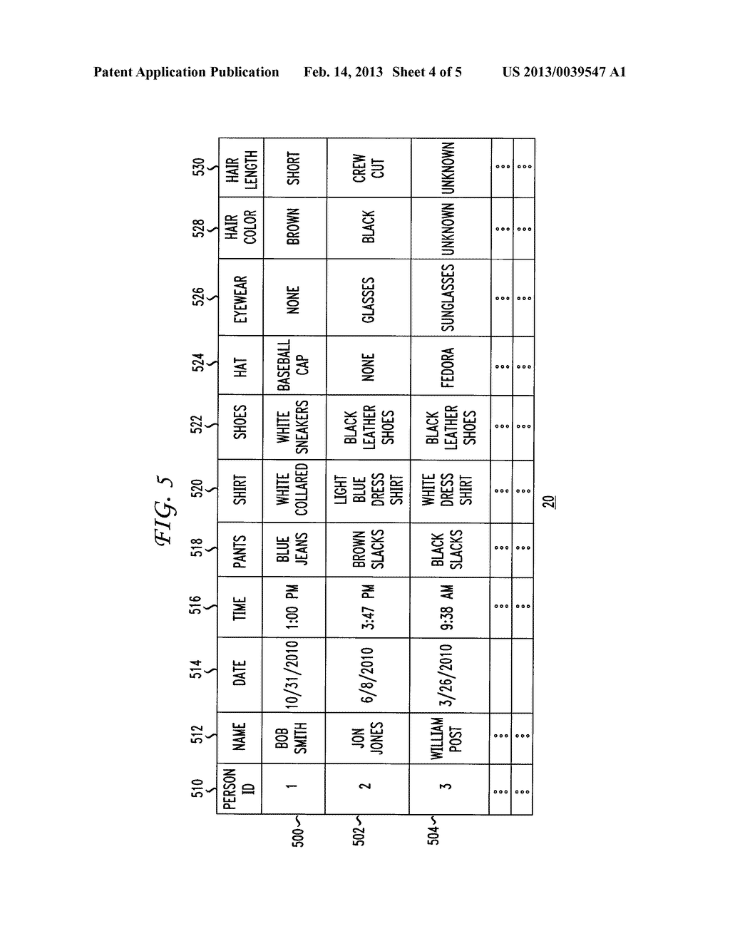 Method and Apparatus for Automated Analysis and Identification of a Person     in Image and Video Content - diagram, schematic, and image 05