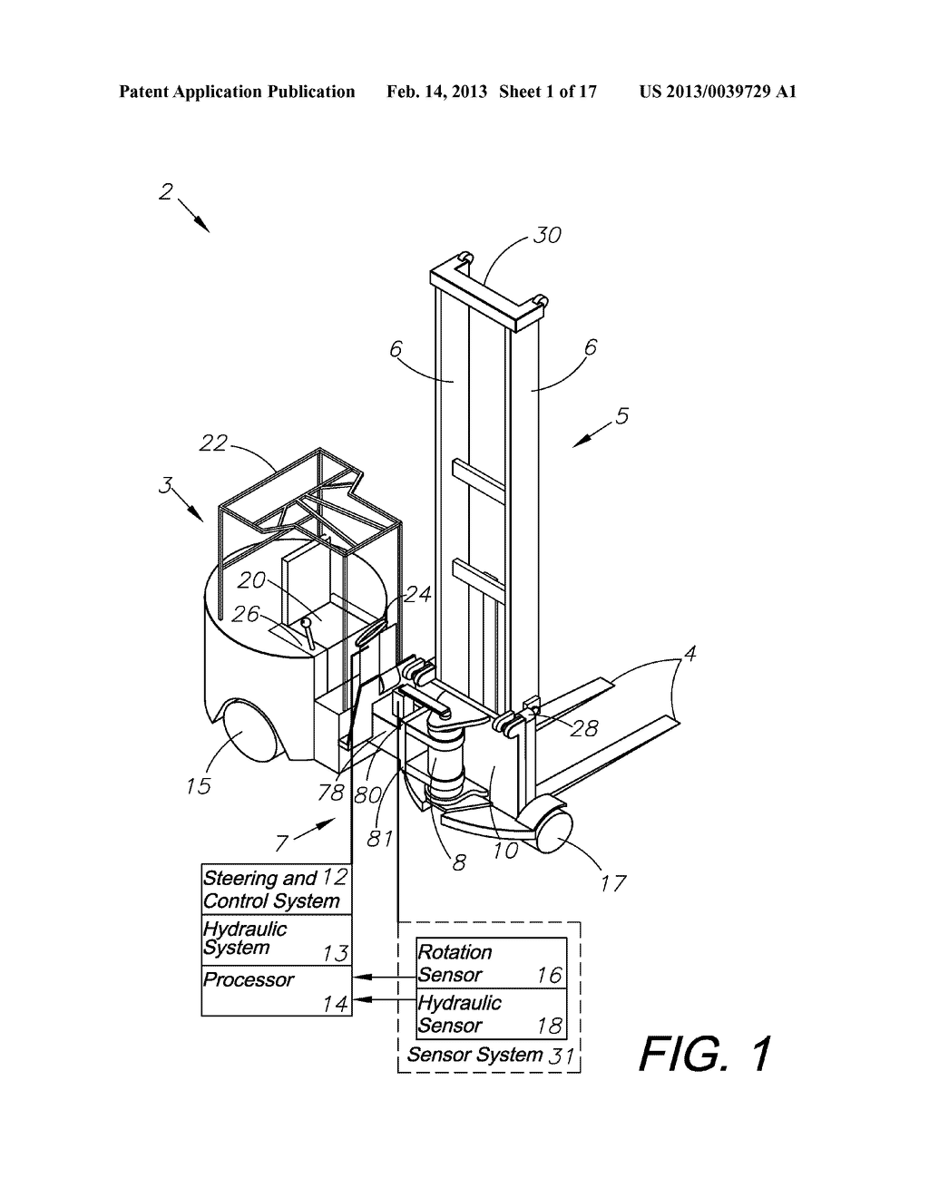 [SCHEMATICS_4PO]  HYDRAULIC STEERING SYSTEM FOR FORKLIFT TRUCKS - diagram, schematic, and  image 02 | Forklift Schematic |  | Patents