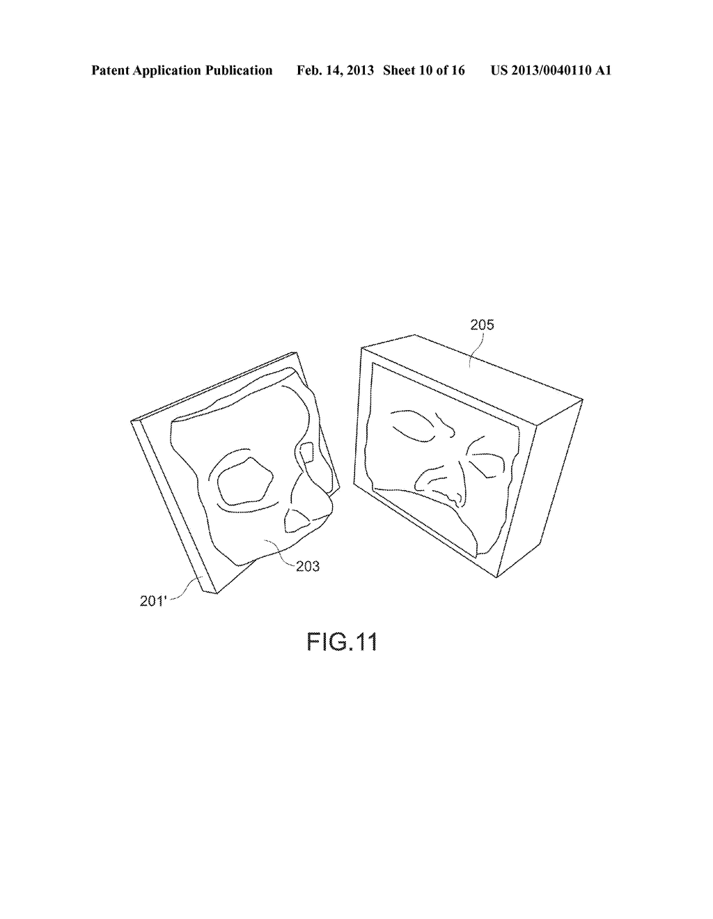 METHOD OF MANUFACTURING MOLDED OBJECT AND MOLDED OBJECT - diagram, schematic, and image 11