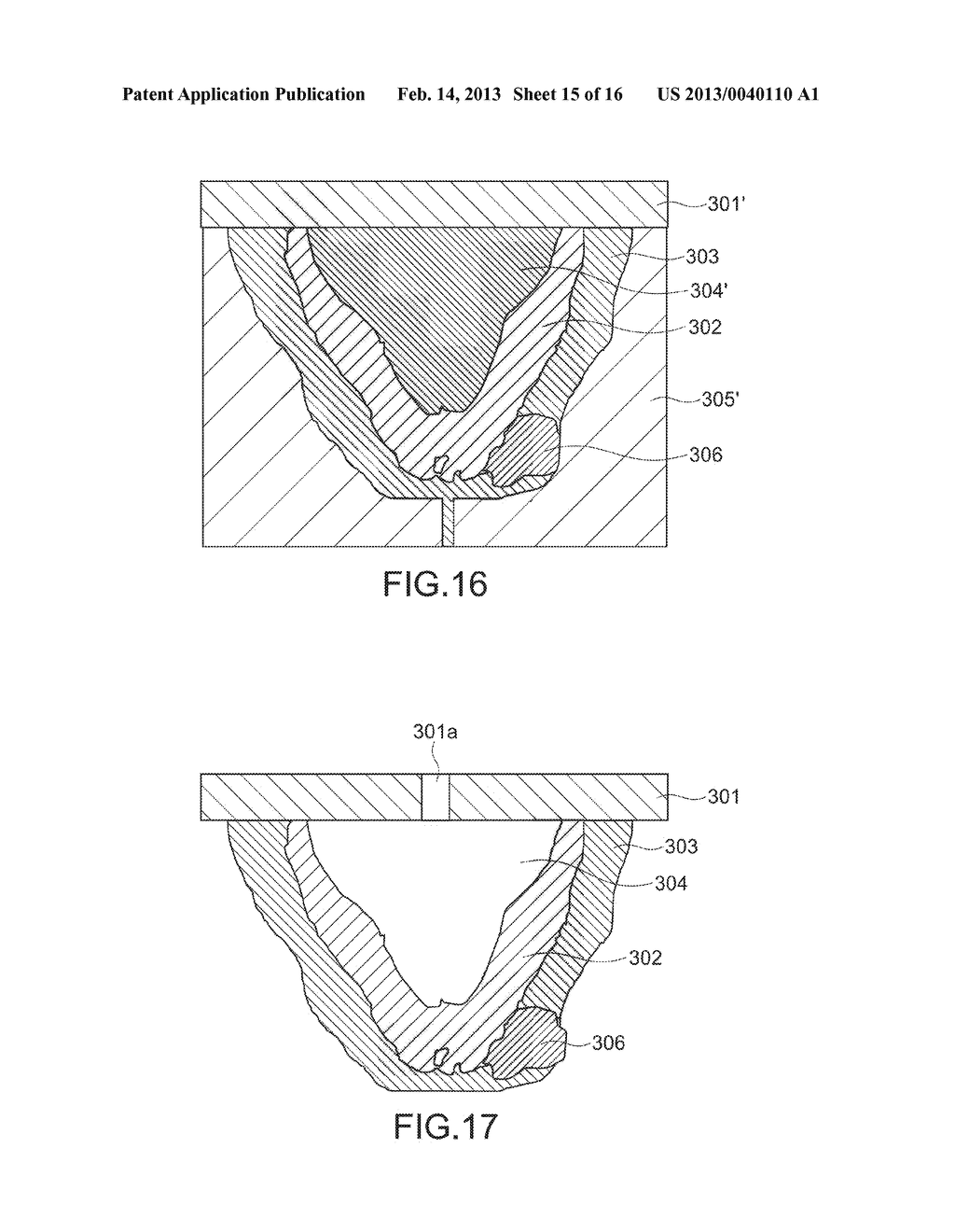 METHOD OF MANUFACTURING MOLDED OBJECT AND MOLDED OBJECT - diagram, schematic, and image 16