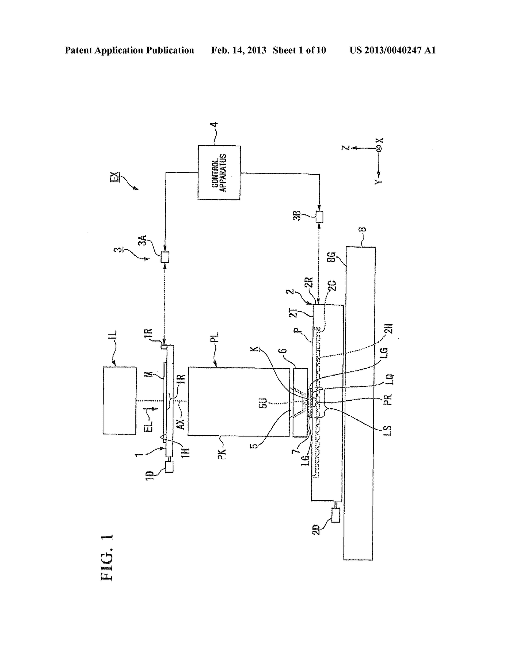 LIQUID IMMERSION MEMBER, METHOD FOR MANUFACTURING LIQUID IMMERSION MEMBER,     EXPOSURE APPARATUS, AND DEVICE MANUFACTURING METHOD - diagram, schematic, and image 02