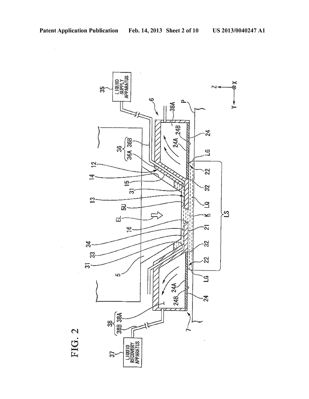 LIQUID IMMERSION MEMBER, METHOD FOR MANUFACTURING LIQUID IMMERSION MEMBER,     EXPOSURE APPARATUS, AND DEVICE MANUFACTURING METHOD - diagram, schematic, and image 03