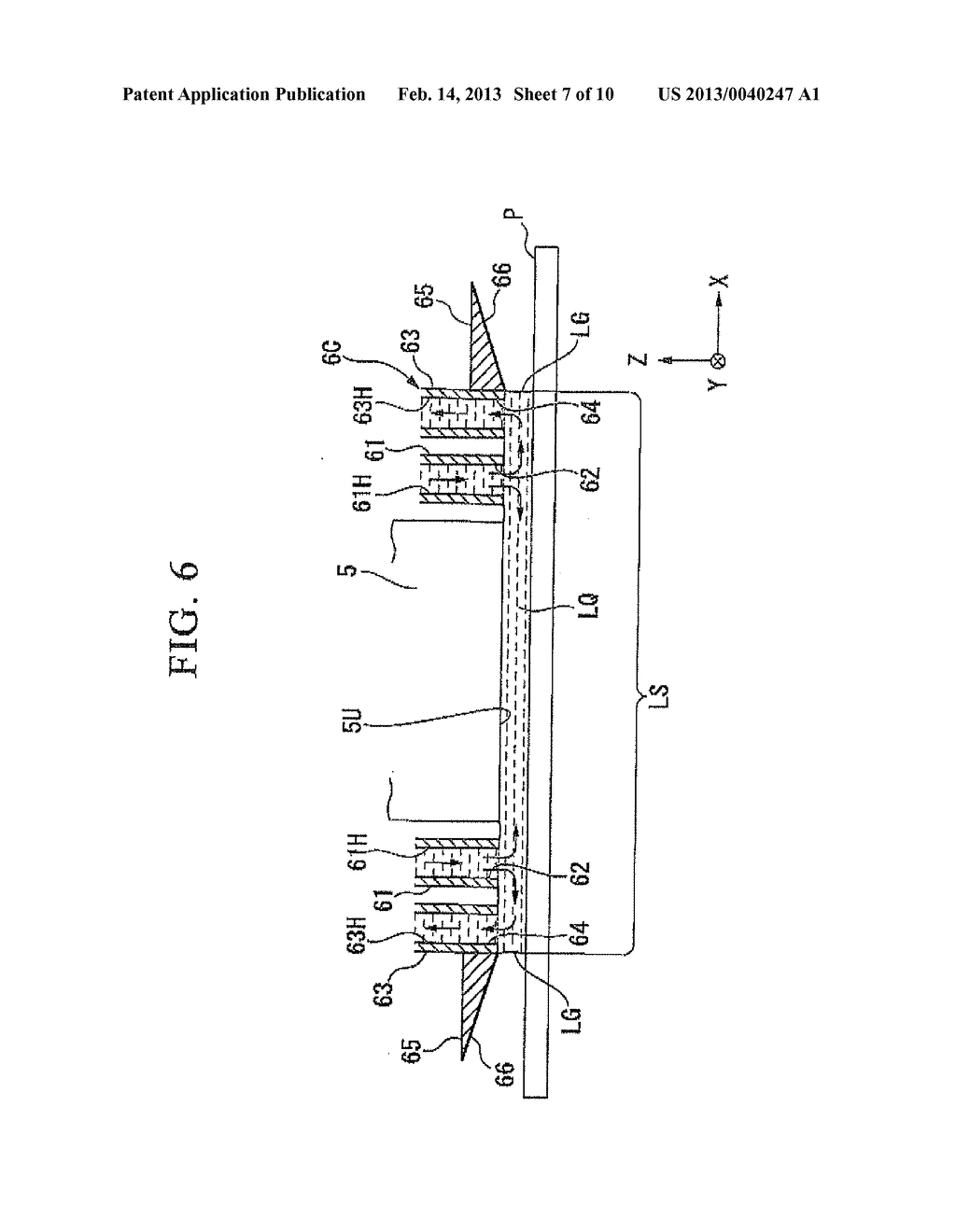 LIQUID IMMERSION MEMBER, METHOD FOR MANUFACTURING LIQUID IMMERSION MEMBER,     EXPOSURE APPARATUS, AND DEVICE MANUFACTURING METHOD - diagram, schematic, and image 08