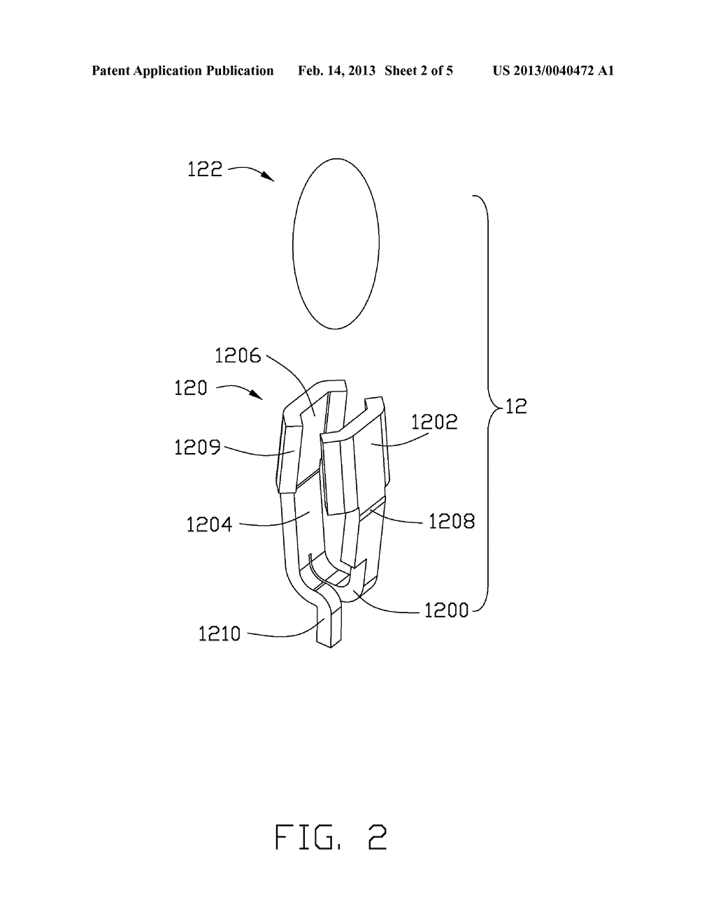 SOCKET CONNECTOR HAVING CONTACT TERMINAL INCORPORATED WITH SELF-REPELLING     CONTACT TIP - diagram, schematic, and image 03