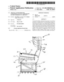 AIRCRAFT AND METHOD FOR CLIMATIZING AT LEAST A PART-REGION OF THE INTERIOR     OF AN AIRCRAFT diagram and image