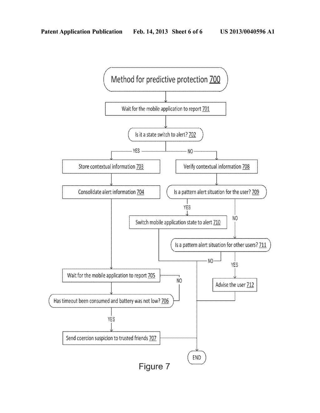 METHOD FOR USING SMARTPHONES AS PUBLIC AND PERSONAL SECURITY DEVICES BASED     ON TRUSTED SOCIAL NETWORKS - diagram, schematic, and image 07
