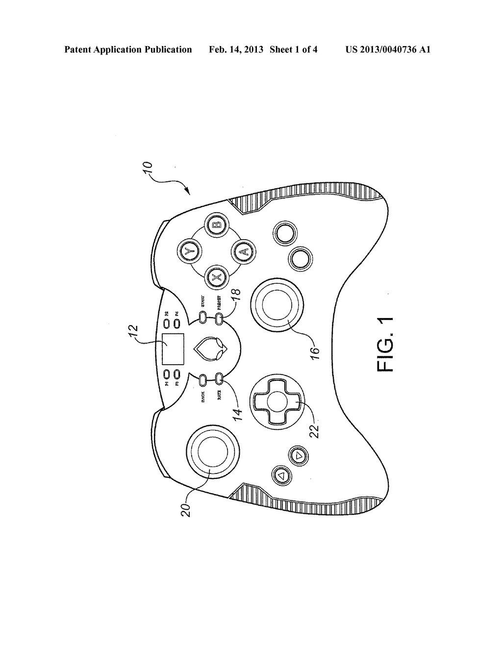 GAME CONTROLLER SYSTEM - diagram, schematic, and image 02