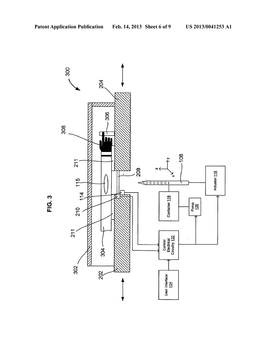 SYSTEMS AND METHODS FOR AUTOMATICALLY INSERTING A NEEDLE INTO A LIVING     SUBJECT - diagram, schematic, and image 07