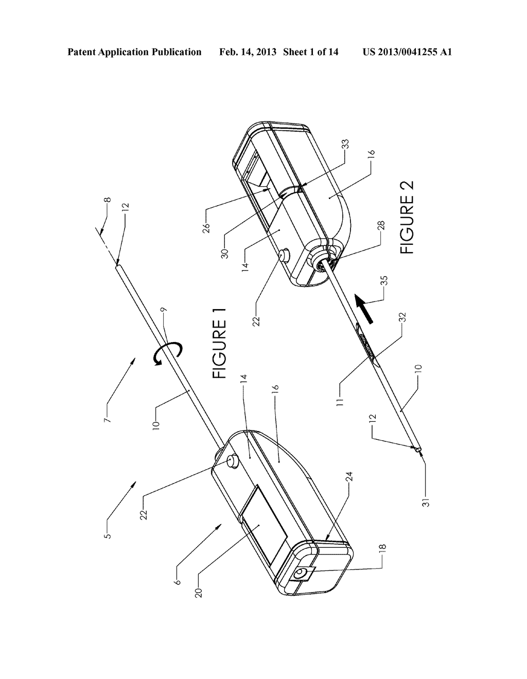 Tissue Removal Device and Method of Use - diagram, schematic, and image 02