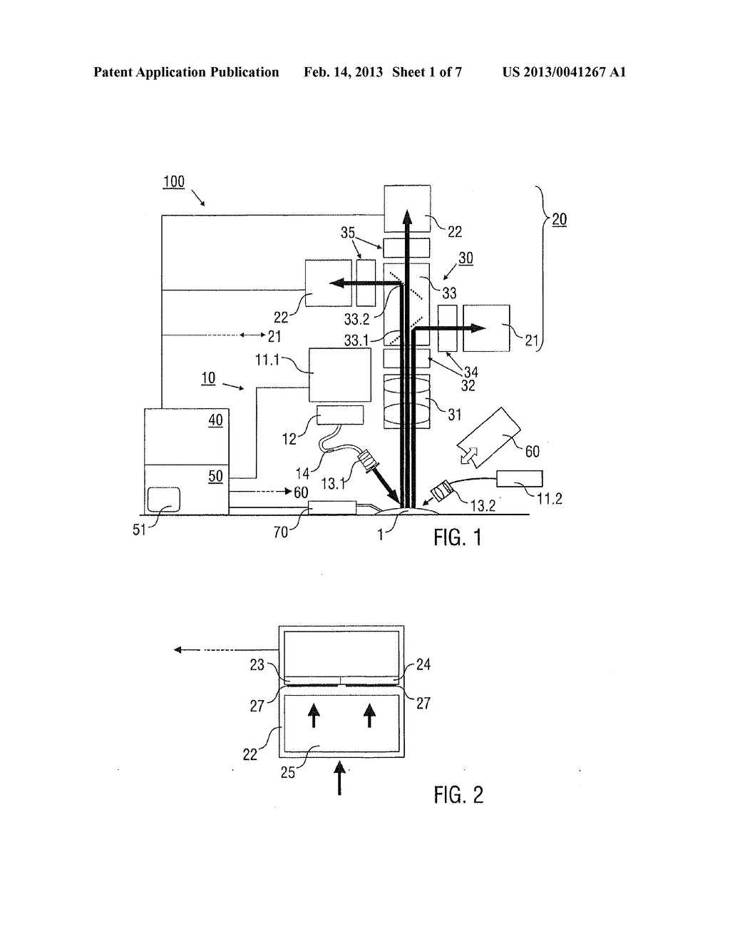 METHOD AND DEVICE FOR MULTI-SPECTRAL PHOTONIC IMAGING - diagram, schematic, and image 02