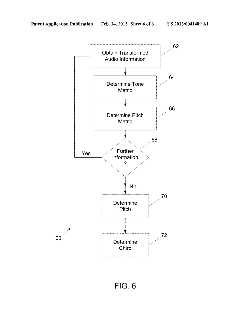 System And Method For Analyzing Audio Information To Determine Pitch     And/Or Fractional Chirp Rate - diagram, schematic, and image 07