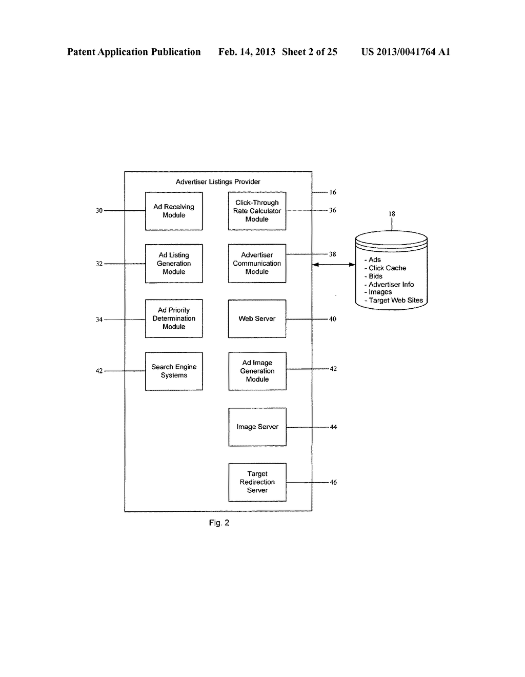 Method and System for Dynamic Textual Ad Distribution Via Email - diagram, schematic, and image 03