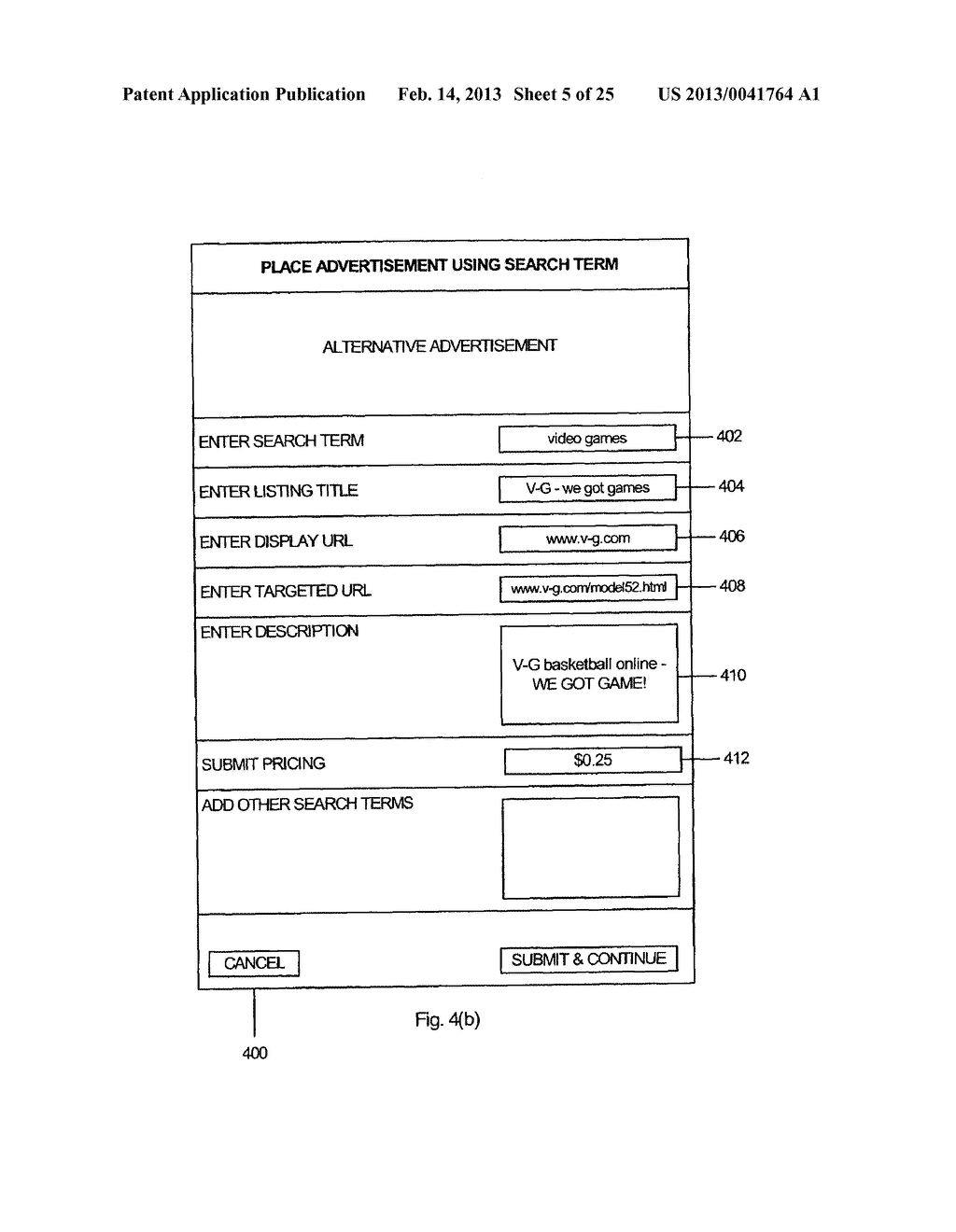 Method and System for Dynamic Textual Ad Distribution Via Email - diagram, schematic, and image 06