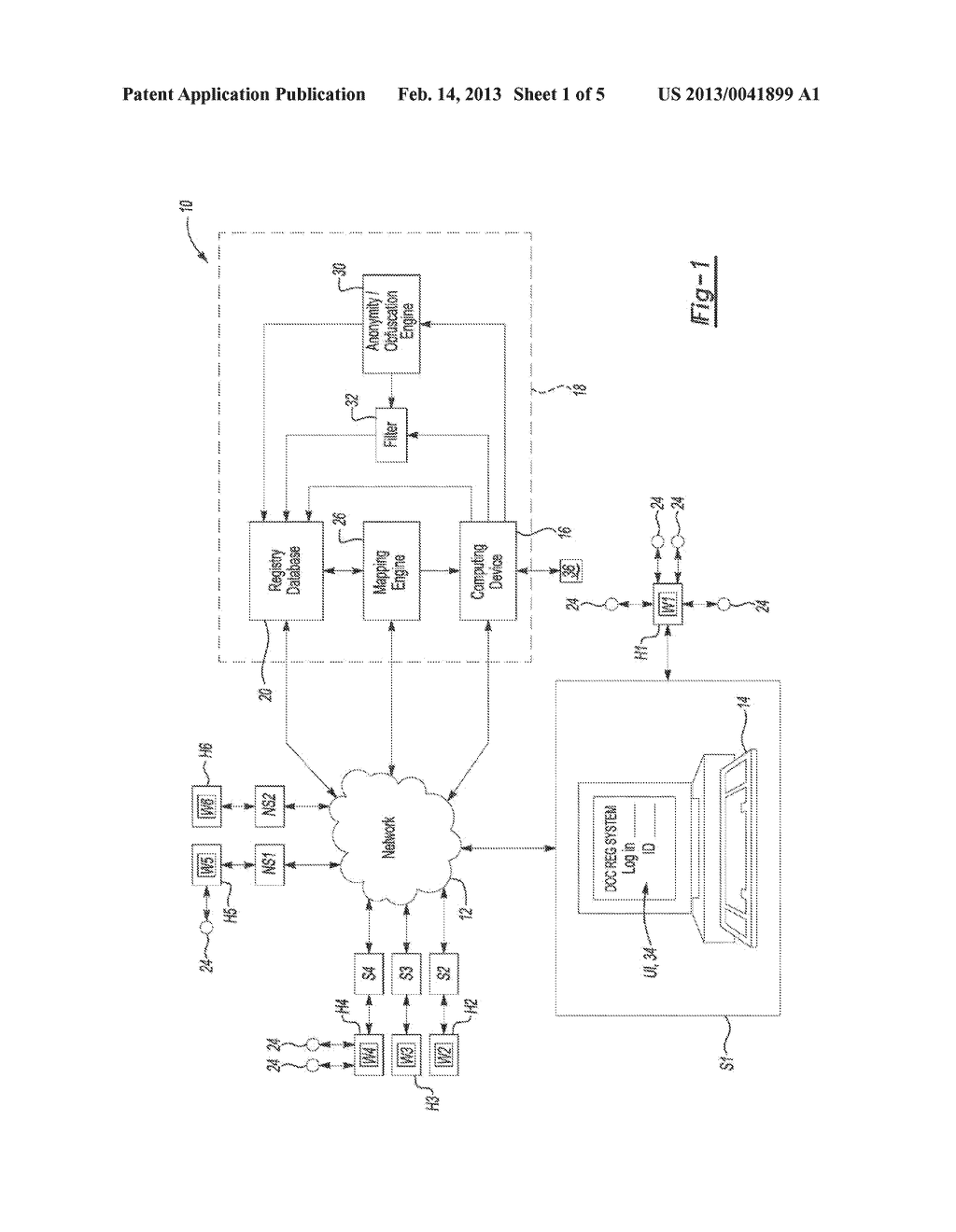 Information Tracking System and Method - diagram, schematic, and image 02