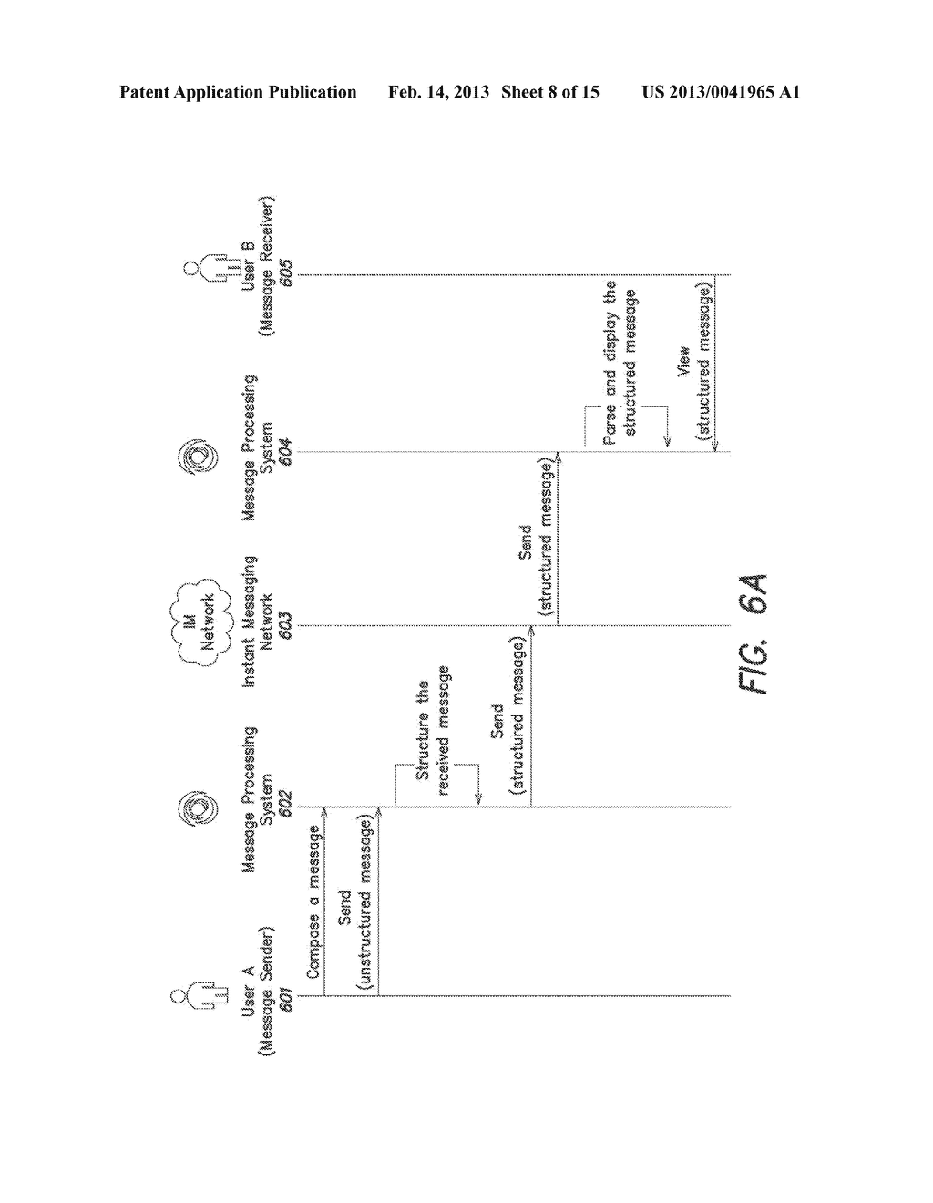 System and Method for Processing Instant Messages - diagram, schematic, and image 09