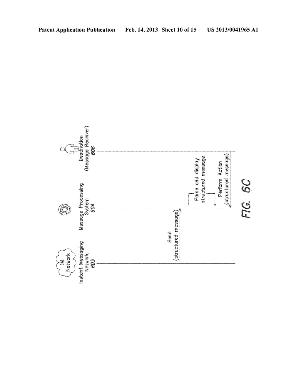 System and Method for Processing Instant Messages - diagram, schematic, and image 11
