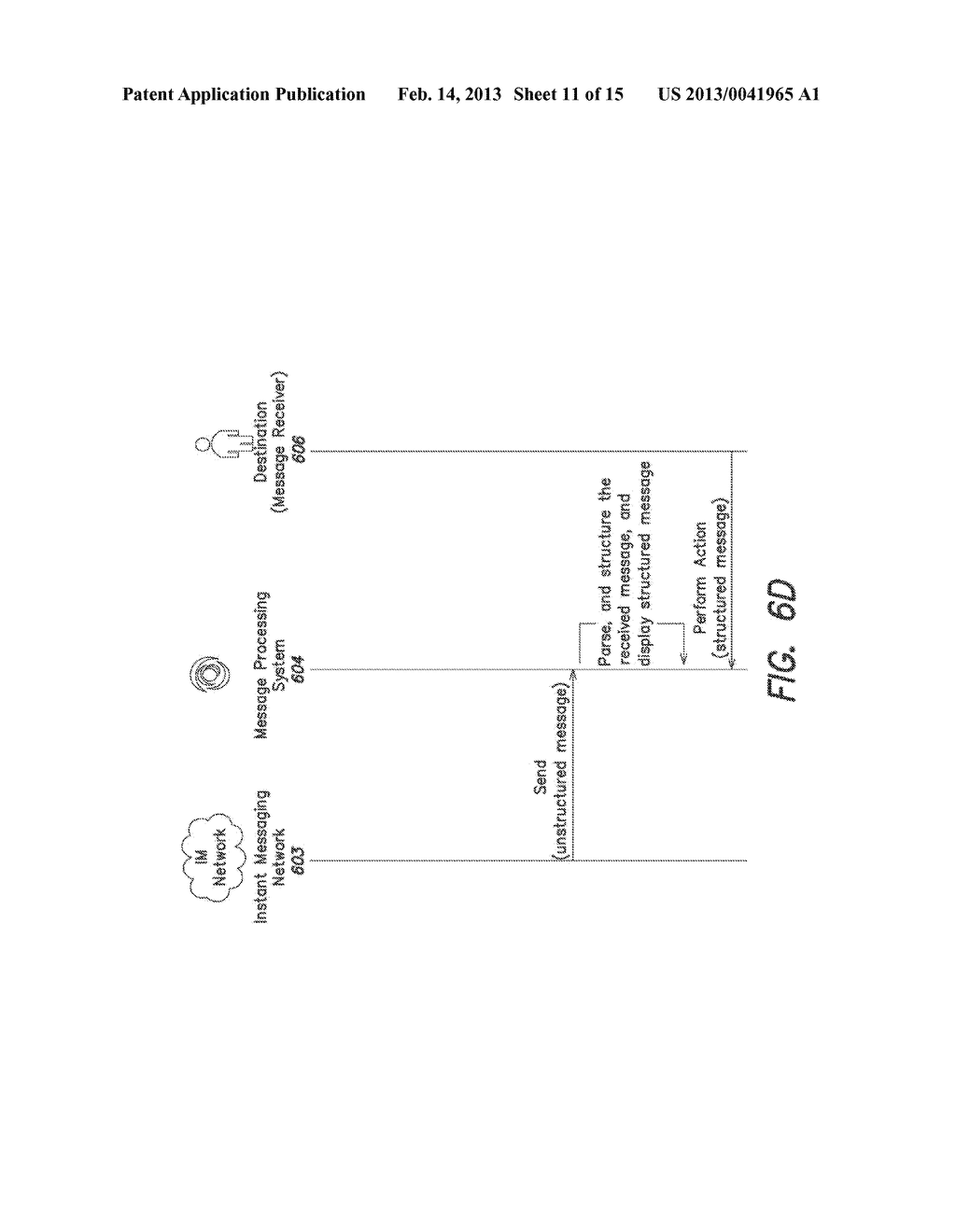 System and Method for Processing Instant Messages - diagram, schematic, and image 12