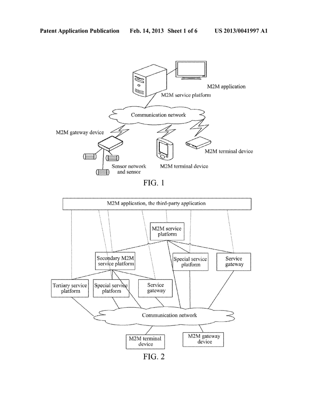 Internet of Things Service Architecture and Method for Realizing Internet     of Things Service - diagram, schematic, and image 02