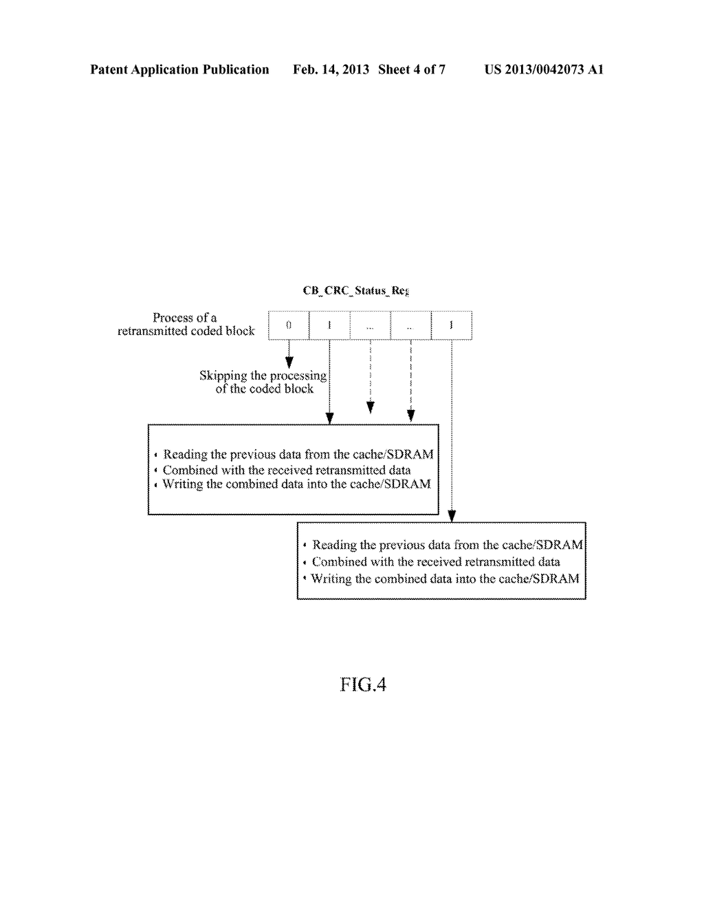 Hybrid Automatic Repeat Request Combiner and Method for Storing Hybrid     Automatic Repeat Request Data - diagram, schematic, and image 05