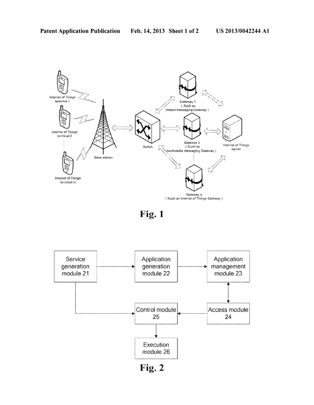 METHOD AND SYSTEM FOR IMPLEMENTING INTERNET OF THINGS SERVICE - diagram, schematic, and image 02