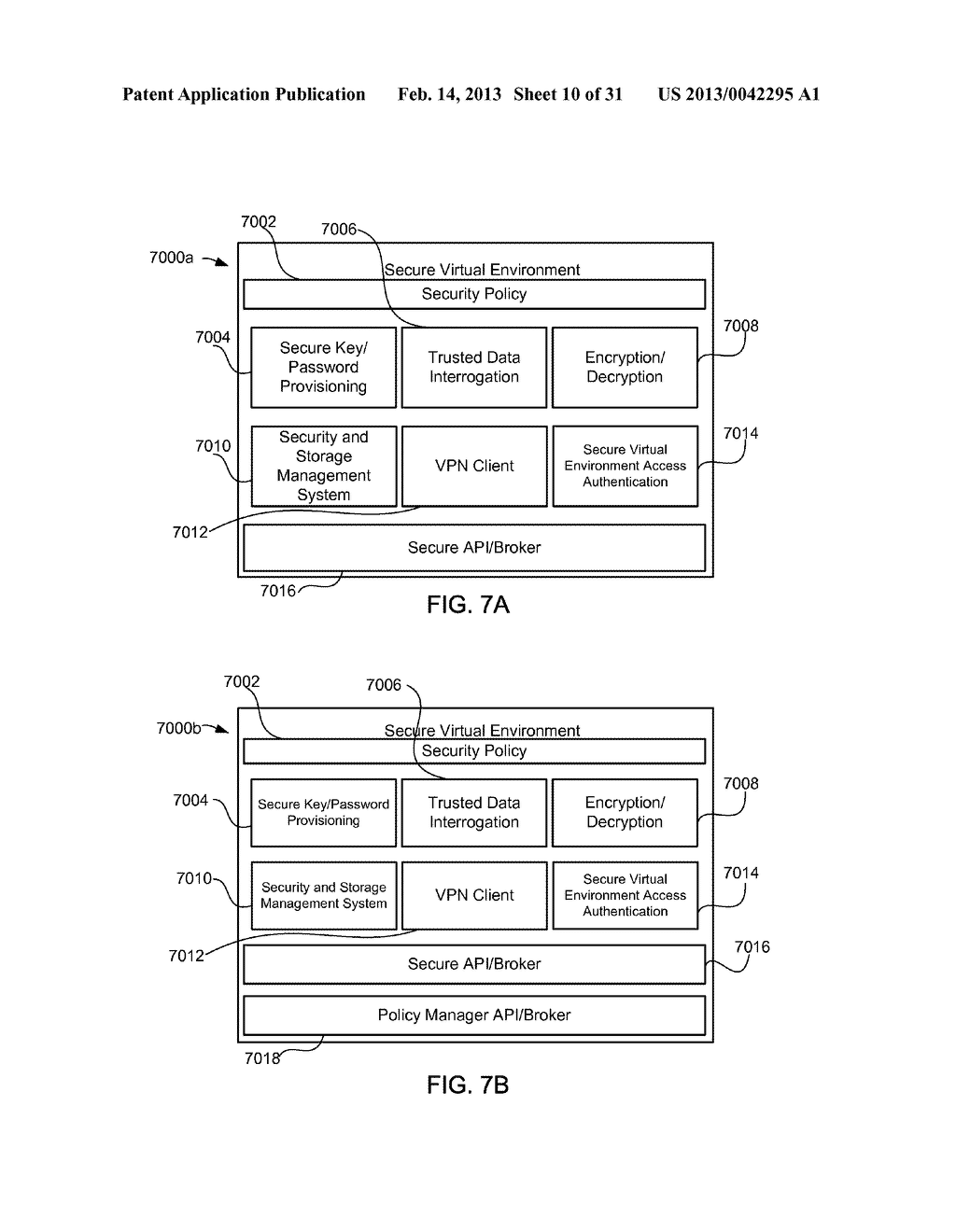 METHOD AND APPARATUS FOR PROVIDING A SECURE VIRTUAL ENVIRONMENT ON A     MOBILE DEVICE - diagram, schematic, and image 11