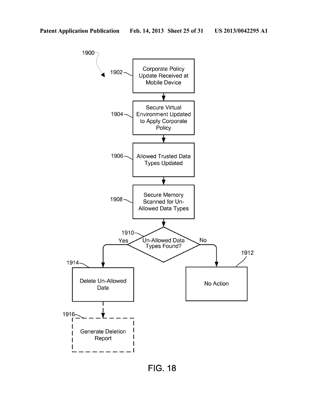 METHOD AND APPARATUS FOR PROVIDING A SECURE VIRTUAL ENVIRONMENT ON A     MOBILE DEVICE - diagram, schematic, and image 26