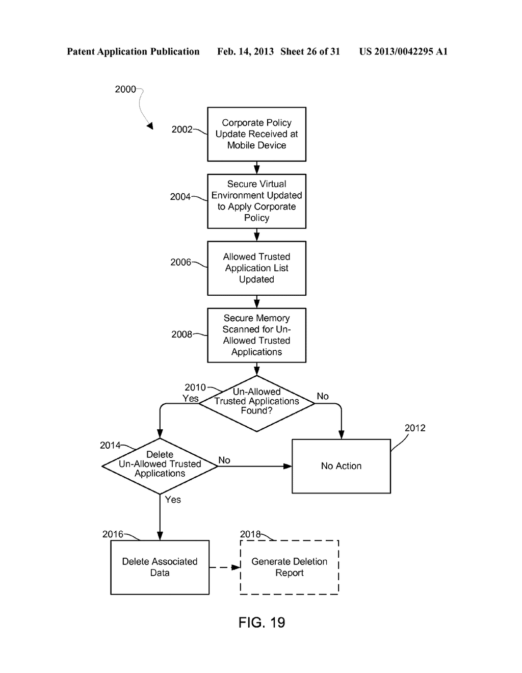 METHOD AND APPARATUS FOR PROVIDING A SECURE VIRTUAL ENVIRONMENT ON A     MOBILE DEVICE - diagram, schematic, and image 27