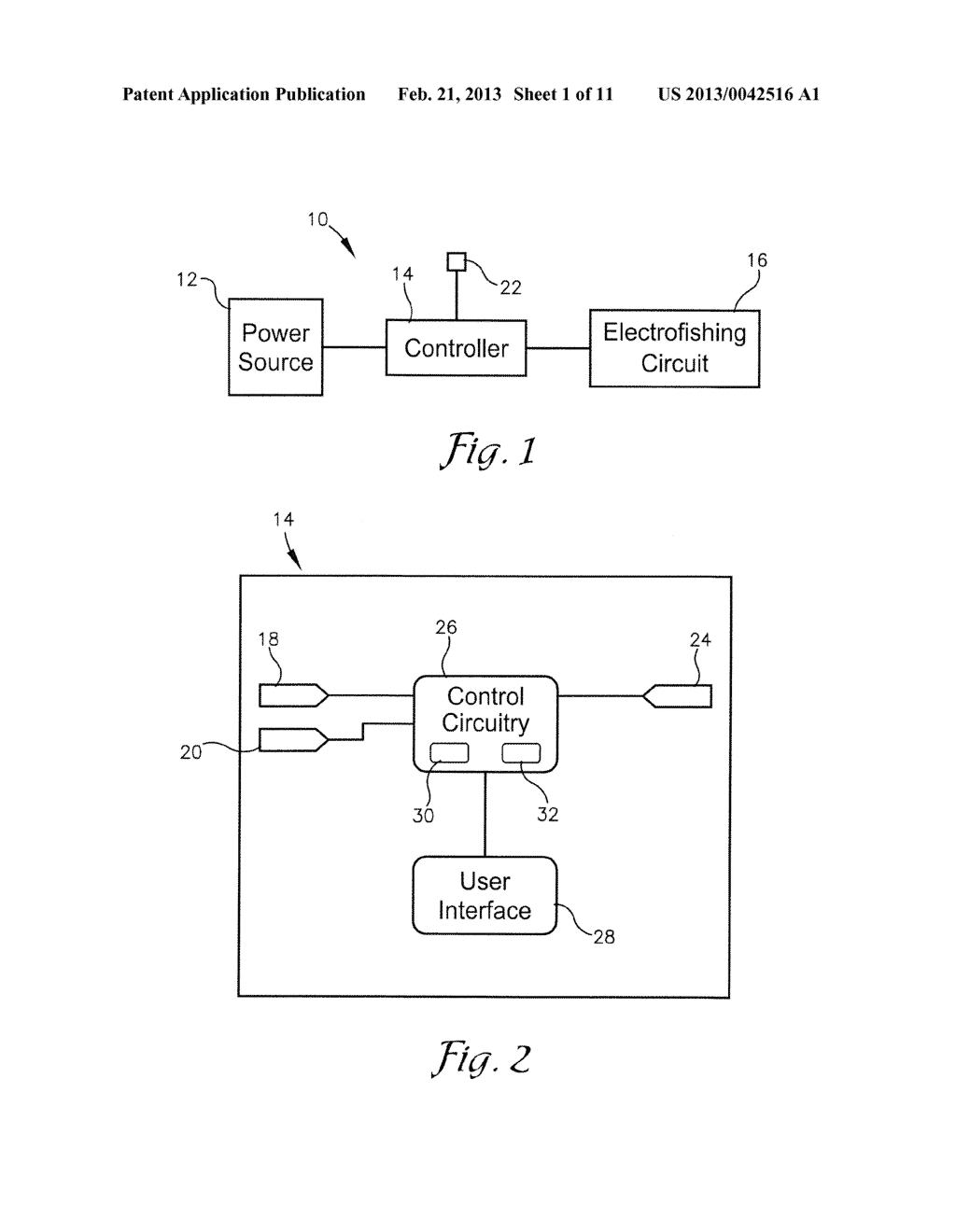 SYSTEM AND METHOD FOR ELECTROFISHING - diagram, schematic, and image 02