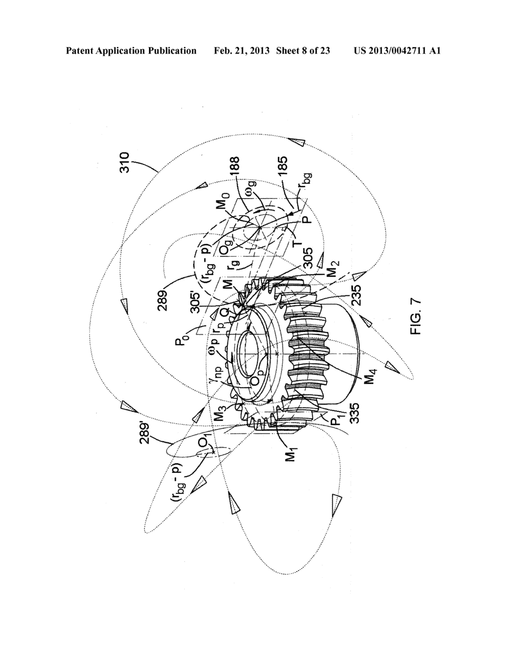 DOUBLE INVOLUTE PINION-FACE GEAR DRIVE SYSTEM - diagram, schematic, and image 09