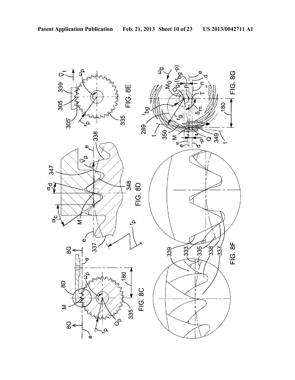 DOUBLE INVOLUTE PINION-FACE GEAR DRIVE SYSTEM - diagram, schematic, and image 11