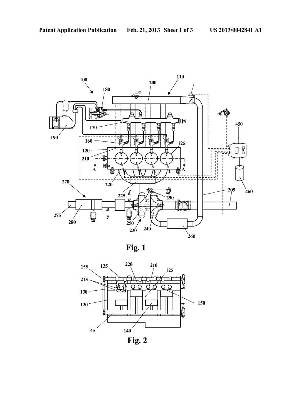 EXHAUST GAS RECIRCULATION SYSTEM FOR AN INTERNAL COMBUSTION ENGINE - diagram, schematic, and image 02