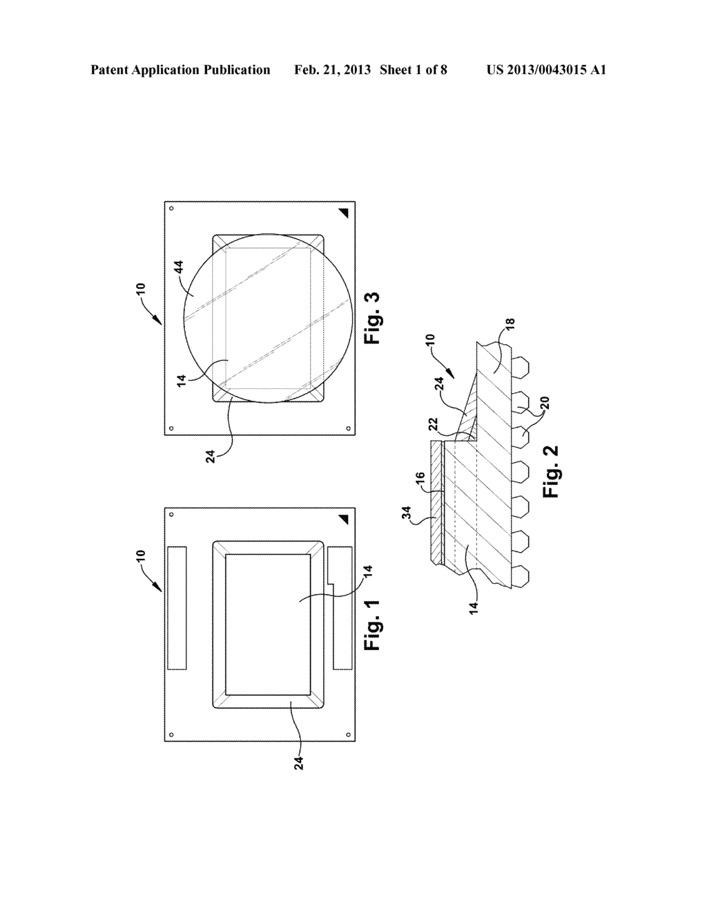 MANUFACTURING PROCESS AND HEAT DISSIPATING DEVICE FOR FORMING INTERFACE     FOR ELECTRONIC COMPONENT - diagram, schematic, and image 02