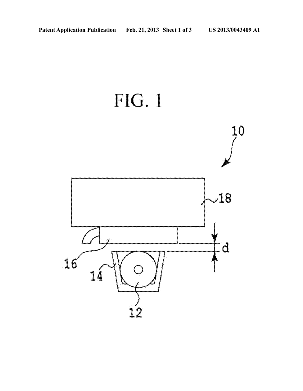 METHOD AND APPARATUS FOR TREATING MAGNETIC RECORDING MEDIUM WITH     ULTRAVIOLET RADIATION - diagram, schematic, and image 02