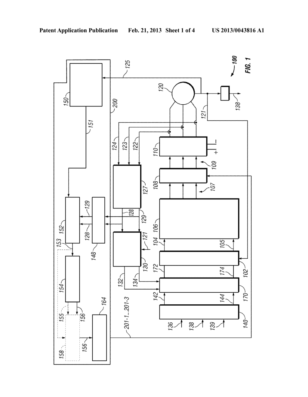 METHODS, SYSTEMS AND APPARATUS FOR CONTROLLING A MULTI-PHASE INVERTER - diagram, schematic, and image 02