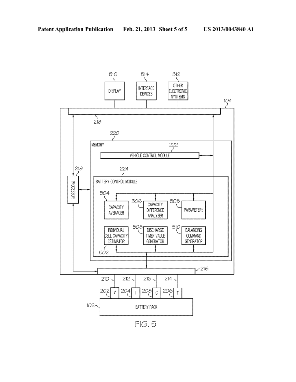 SYSTEMS AND METHODS FOR PERFORMING CELL BALANCING IN A VEHICLE USING CELL     CAPACITIES - diagram, schematic, and image 06