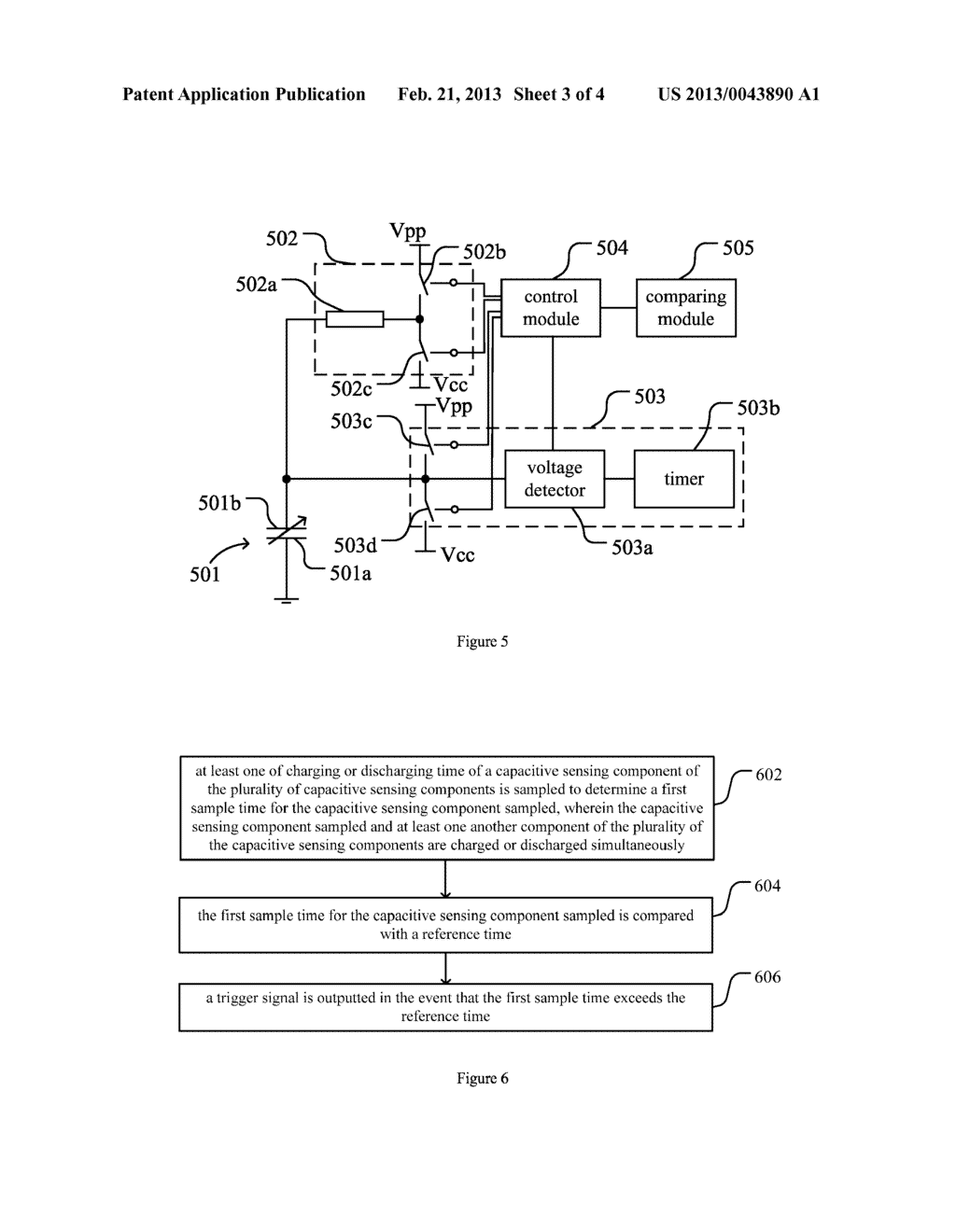 Sensing Method and Circuit for Use with Capacitive Sensing Devices - diagram, schematic, and image 04