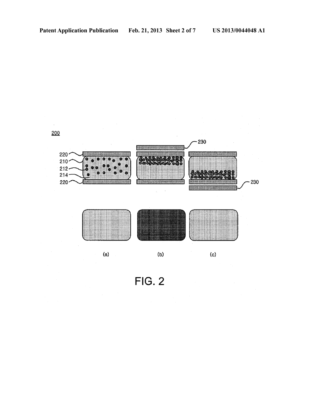 DISPLAY DEVICE AND METHOD USING ELECTROMAGNETOPHORETIC PROPERTY - diagram, schematic, and image 03