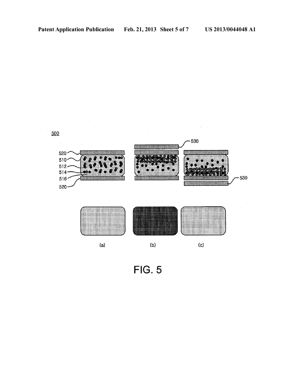 DISPLAY DEVICE AND METHOD USING ELECTROMAGNETOPHORETIC PROPERTY - diagram, schematic, and image 06