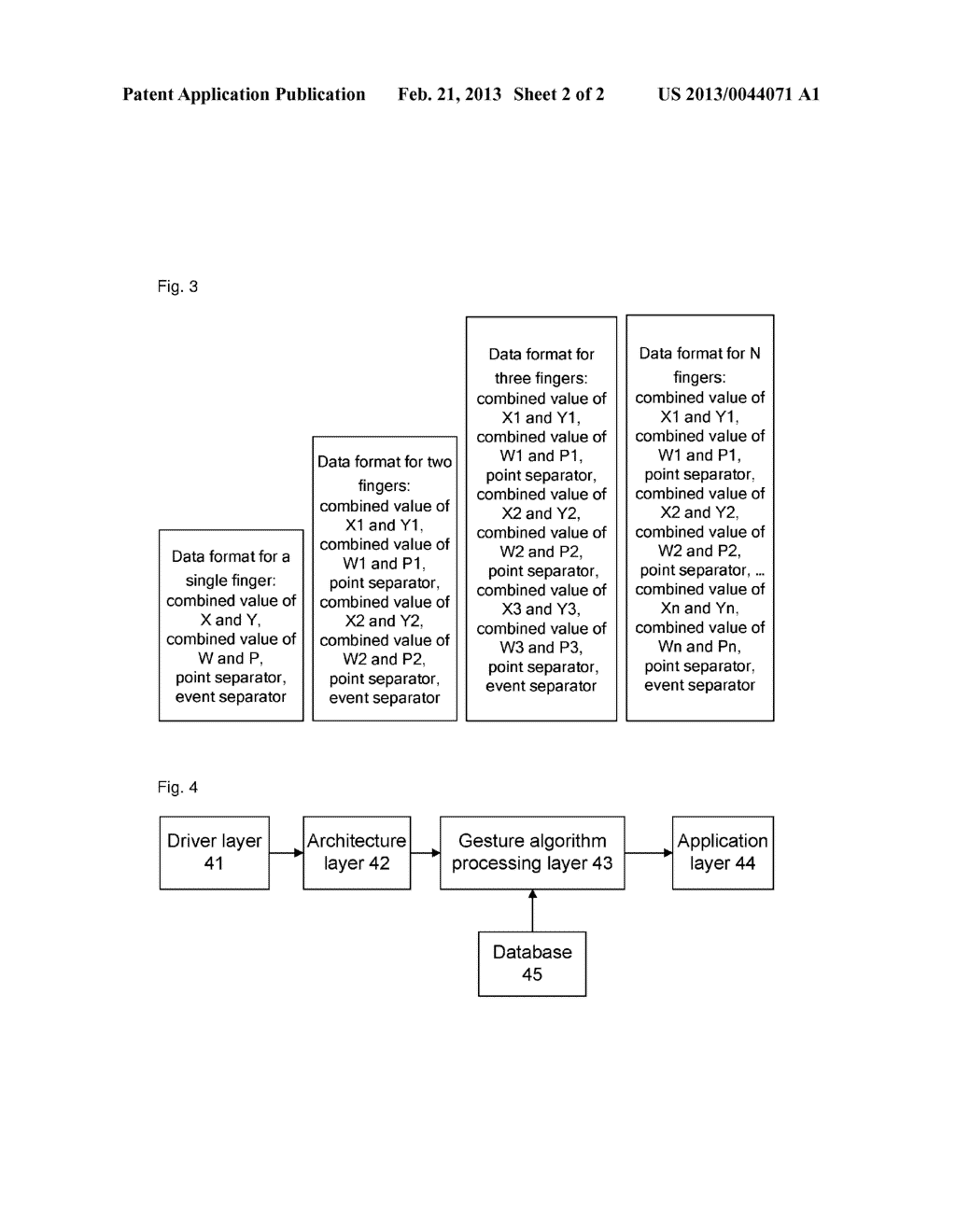 Method and mobile terminal for automatically recognizing a rotation     gesture - diagram, schematic, and image 03