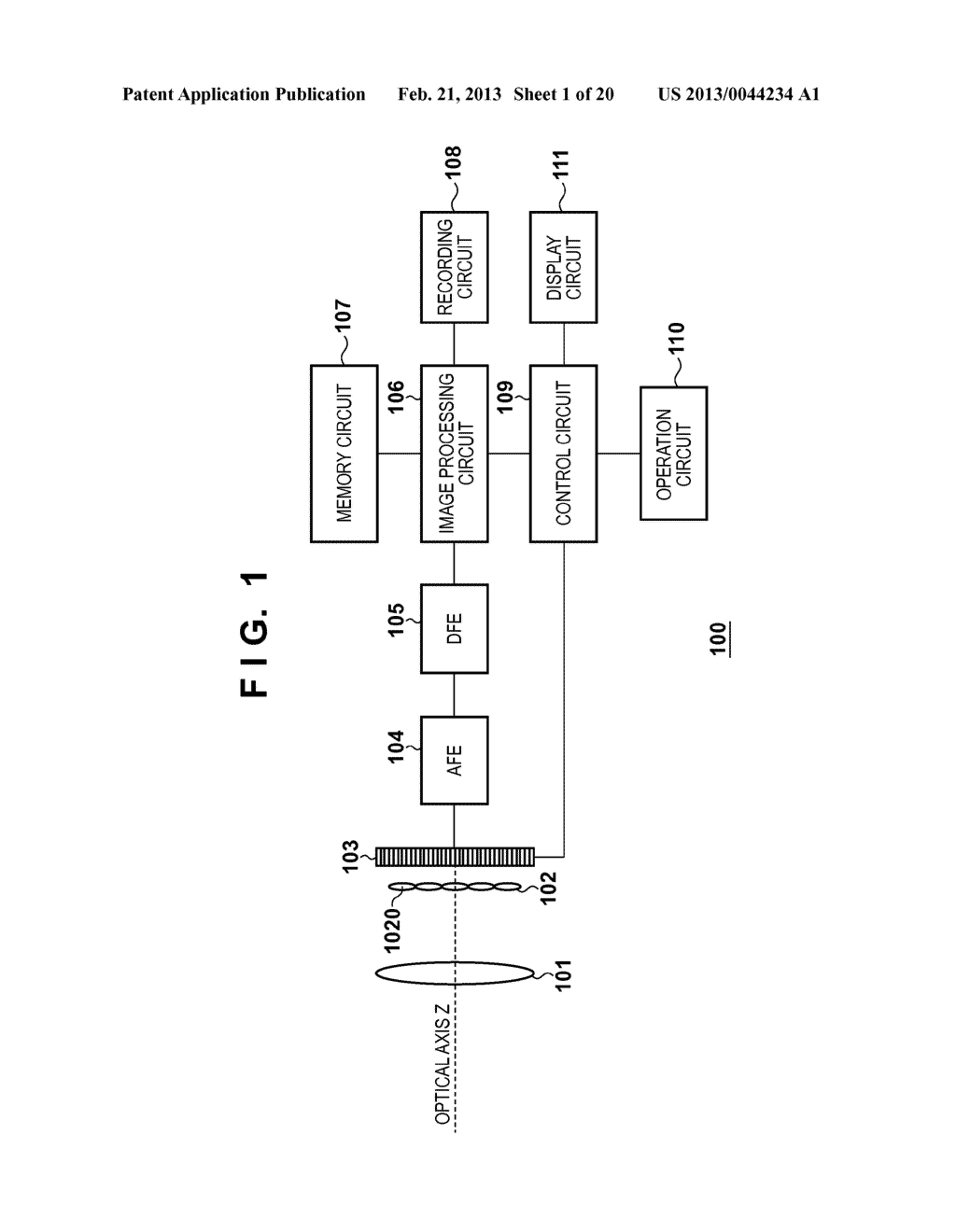 IMAGE CAPTURING APPARATUS, IMAGE PROCESSING APPARATUS, AND IMAGE     PROCESSING METHOD FOR GENERATING AUXILIARY INFORMATION FOR CAPTURED IMAGE - diagram, schematic, and image 02