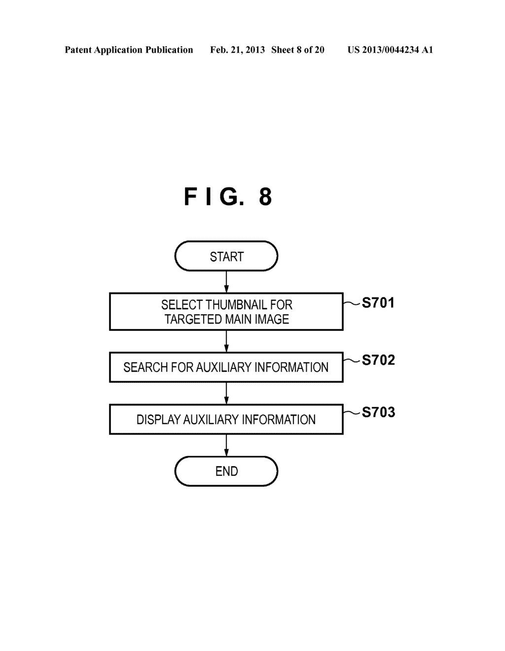 IMAGE CAPTURING APPARATUS, IMAGE PROCESSING APPARATUS, AND IMAGE     PROCESSING METHOD FOR GENERATING AUXILIARY INFORMATION FOR CAPTURED IMAGE - diagram, schematic, and image 09