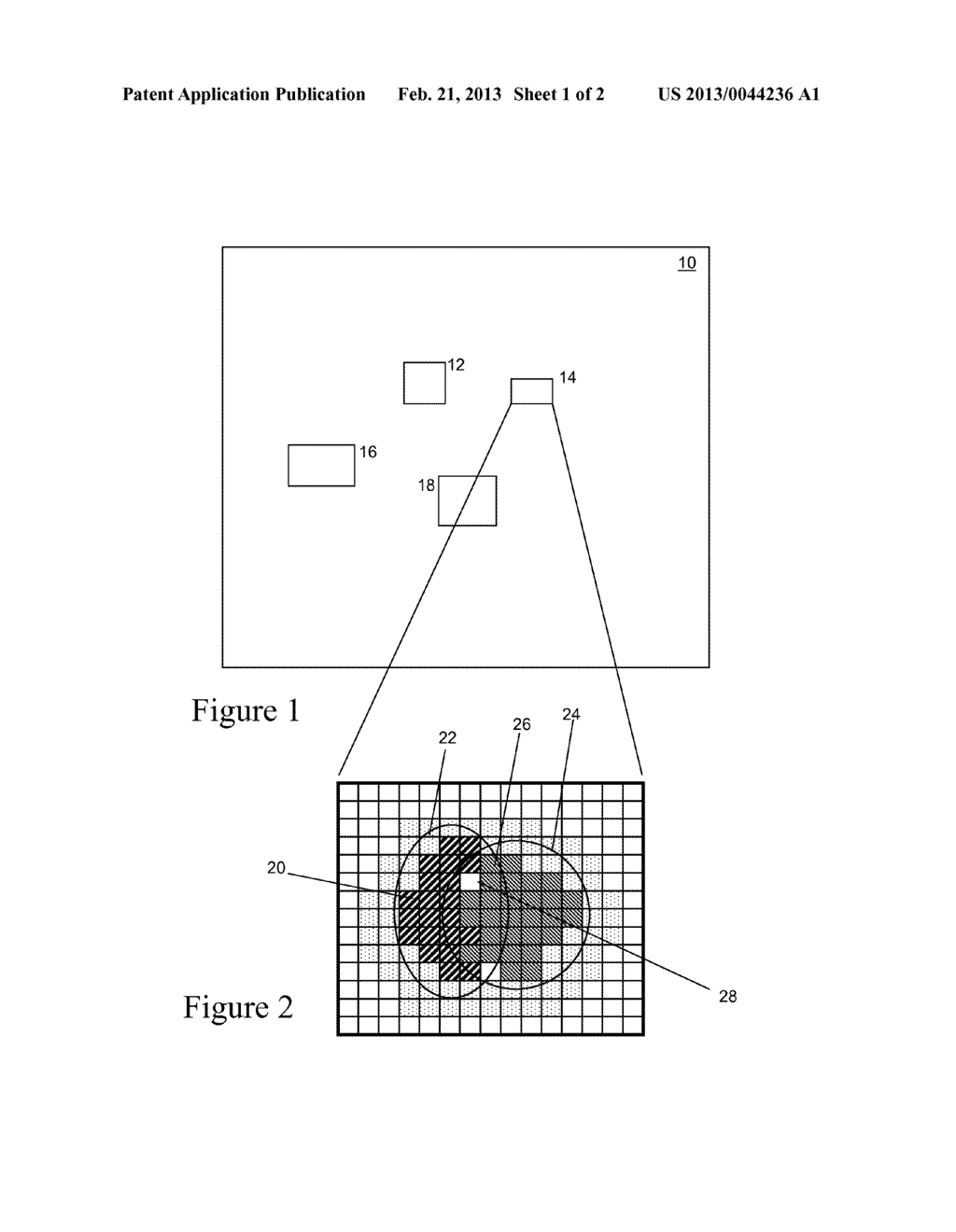 Method and Apparatus of Correcting Hybrid Flash Artifacts in Digital     Images - diagram, schematic, and image 02