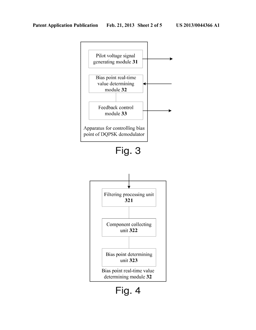 METHOD AND APPARATUS FOR CONTROLLING BIAS POINT OF DIFFERENTIAL QUADRATURE     PHASE SHIFT KEYING DEMODULATOR - diagram, schematic, and image 03