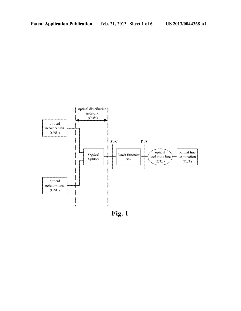 Long Reach Optical Amplification Device, Passive Optical Network, and     Method for Transmitting Optical Signals - diagram, schematic, and image 02