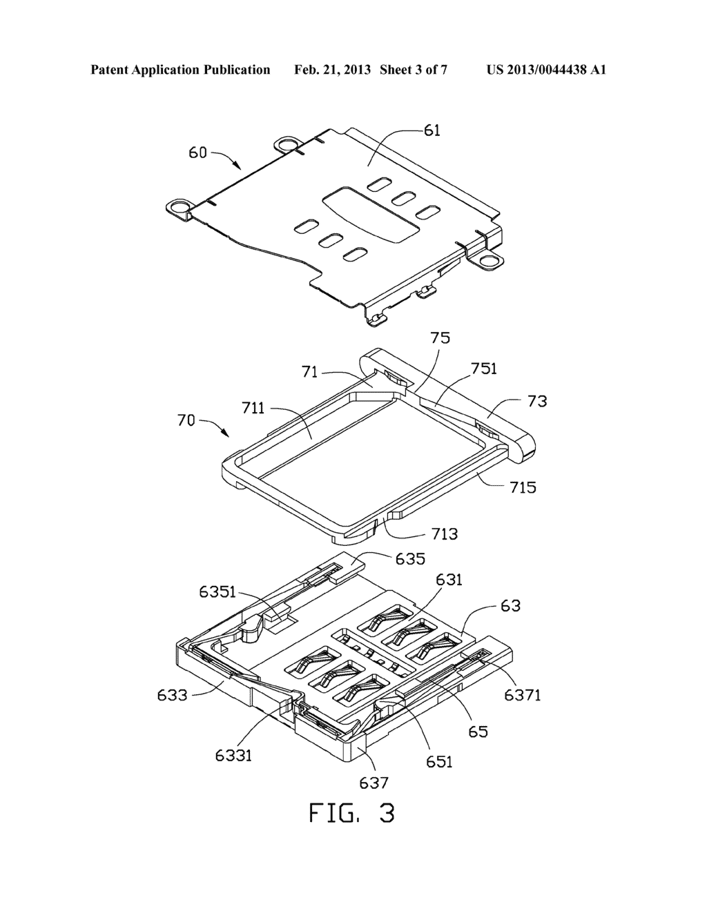 CHIP CARD HOLDING MECHANISM AND PORTABLE ELECTRONIC DEVICE USING THE SAME - diagram, schematic, and image 04