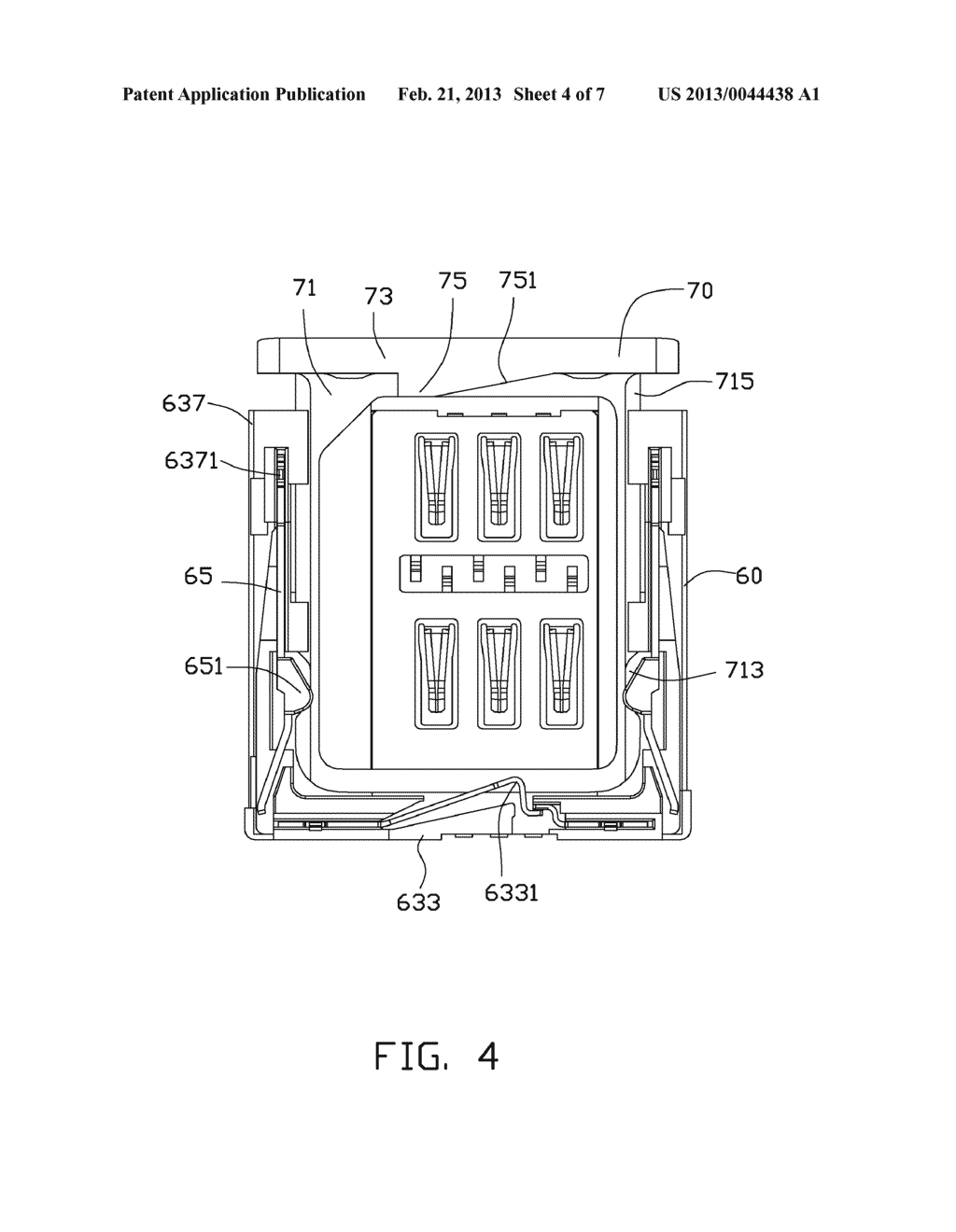 CHIP CARD HOLDING MECHANISM AND PORTABLE ELECTRONIC DEVICE USING THE SAME - diagram, schematic, and image 05